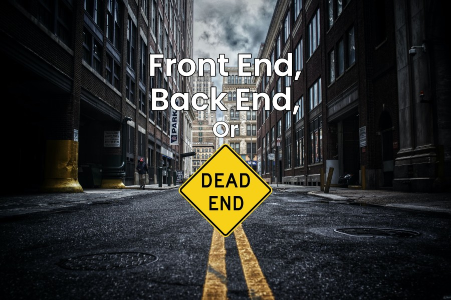front end vs back end: whats the difference between front end and back end development