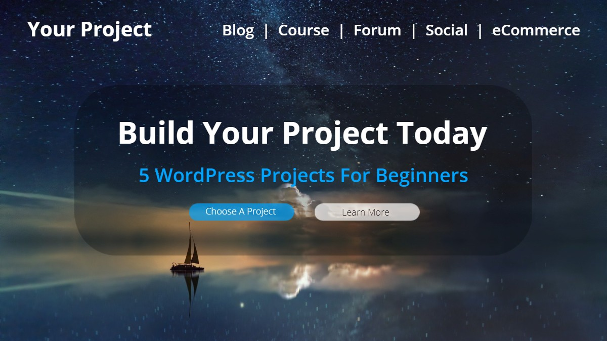 5 wordpress projects for beginners